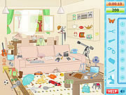 Флеш игра онлайн Red House Hidden Objects