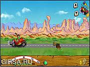 Флеш игра онлайн Red Jet Rabbit