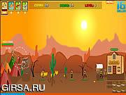 Флеш игра онлайн Red Warrior