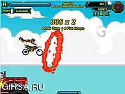 Флеш игра онлайн Рискованный гонщик 6 / Risky Rider 6