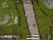 Флеш игра онлайн Волки дороги / Road Wolves