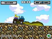 Флеш игра онлайн Транспортер 2 утеса