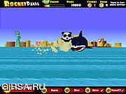 Флеш игра онлайн Ракетная Панда