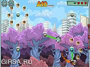 Флеш игра онлайн Белка в ракете / Rocket Squirrel