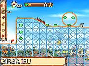 Флеш игра онлайн Rollercoaster Creator 2