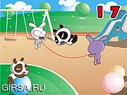 Флеш игра онлайн Прыгать веревочки / Rope Skipping