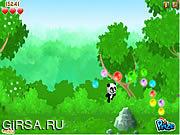 Флеш игра онлайн Беги, панда, беги