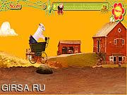 Флеш игра онлайн Свинья беглеца / Runaway Pig