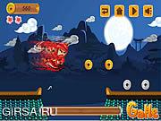 Флеш игра онлайн Бегущий нинзя / Running Ninja