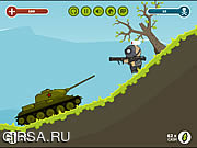 Флеш игра онлайн Russian Tank vs Hitler's Army