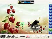 Флеш игра онлайн Paradise Sandy - найти числа