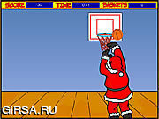 Флеш игра онлайн Обручи Санта / Santa Hoops