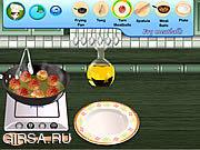 Флеш игра онлайн Sara's Cooking Class Swedish Meatballs