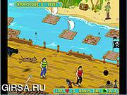 Флеш игра онлайн Скуби Ду за борт / Scooby Doo's Over-Board
