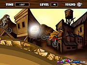 Флеш игра онлайн Scooby BMX Action