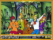 Флеш игра онлайн Scooby-Doo Hidden Objects