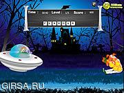 Флеш игра онлайн Охотник зомби Scooby Doo