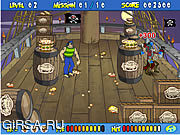 Игра Scooby Doo's Pirate Pie Toss