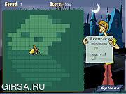 Флеш игра онлайн Стрижка газонов Скуби вызов / Scooby's Lawn-Mowing Challenge