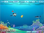Флеш игра онлайн Sea Cleaner