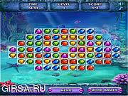 Флеш игра онлайн Морские сокровища