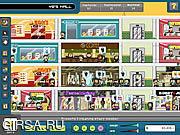 Флеш игра онлайн Империя магазинов