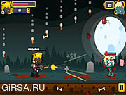 Флеш игра онлайн Shotgun vs Zombies