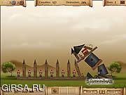 Флеш игра онлайн Адская катапульта