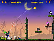 Флеш игра онлайн Silly Bombs And Space Invaders
