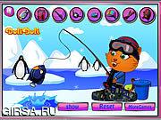 Флеш игра онлайн Подледная рыбалка Сиси