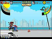 Флеш игра онлайн Скейт Лошадей / Skate Horses