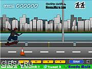 Флеш игра онлайн Роликовая доска / Skater Math