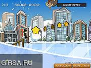 Флеш игра онлайн Маниаки лыжи / Ski Maniacs