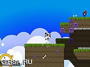 Флеш игра онлайн Панда в небе! / Sky Panda