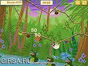Флеш игра онлайн Лень скольжения выскальзования / Slip Slide Sloth