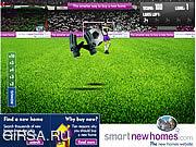 Флеш игра онлайн Умный Футбол
