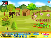 Флеш игра онлайн Smiley Deco Farm Field