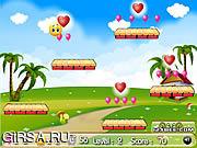 Флеш игра онлайн Смайлики Прыгают