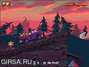 Флеш игра онлайн Провезти Грузовик / Smuggle Truck