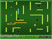 Флеш игра онлайн Snake Fight Arena