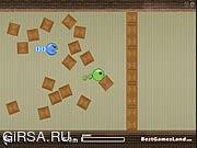 Флеш игра онлайн Неуловимая змейка