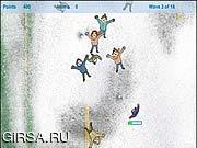 Флеш игра онлайн Снега Нападающий / Snow Striker