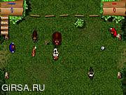 Флеш игра онлайн Футбол на природе