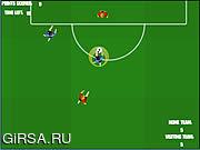 Флеш игра онлайн Футбол На Выбывание / Soccer Shootout