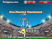 Флеш игра онлайн Тип 2010 футбола / Soccer Style 2010
