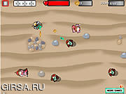 Флеш игра онлайн Спасение принцессы от зомби / Spacemen Vs Medieval Zombies