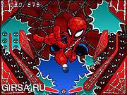 Флеш игра онлайн Spiderlad Против Бэтсмен