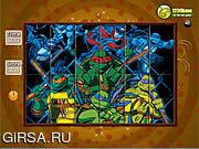 Флеш игра онлайн Spin N Set - Ninja Turtle