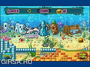 Флеш игра онлайн Спанч Боб Мотокросс / SpongeBob MotoCross