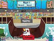 Флеш игра онлайн Губка Боб на скейте / Spongebob Square Pants - Pro Sk8r